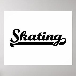 Skating Poster