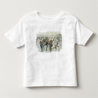 Skating, published by L. Prang and Co. Toddler T-Shirt