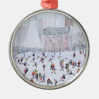 Skating Rink Central Park New York 1994 Christmas Ornament