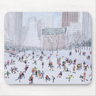 Skating Rink Central Park New York 1994 Mouse Pad