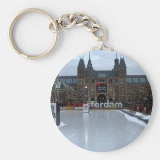 Skating rink, Museumplein, Amsterdam Key Ring