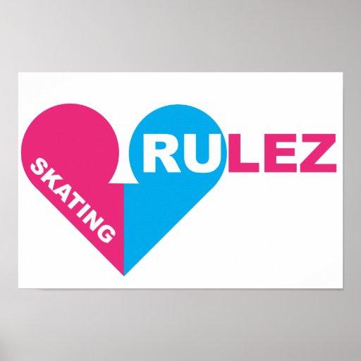 skating rulez poster