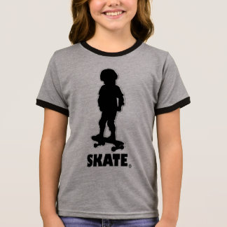 Skating Sports Designer (Skate) Clothing Sale Ringer T-Shirt