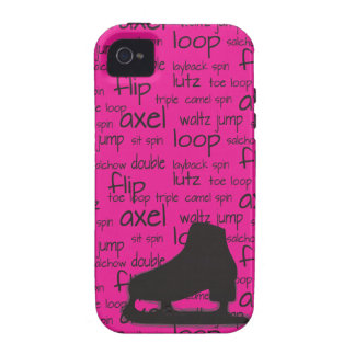 Skating Terms with Skate iPhone Case iPhone 4 Cover