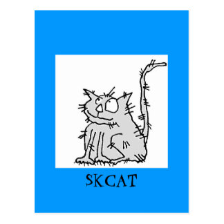 SKCAT Paper Goods by Susan McGraw Keber Postcard