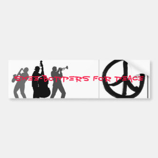 Skee-Boppers For Peace Bumper Sticker