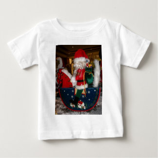 Skeezer Christmas With Snow happy holidays.JPG Baby T-Shirt