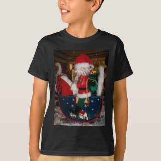 Skeezer Christmas With Snow happy holidays.JPG Tee Shirts