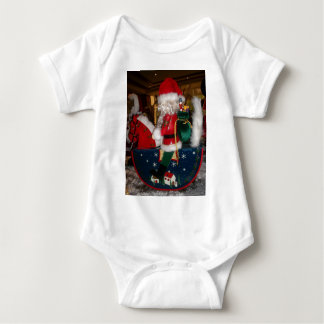 Skeezer Christmas With Snow happy holidays tee