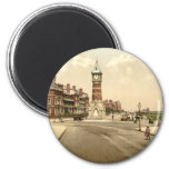 Skegness Tower, Lincolnshire, England 6 Cm Round Magnet