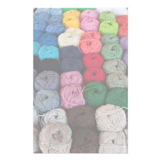 Skeins of yarn personalised stationery