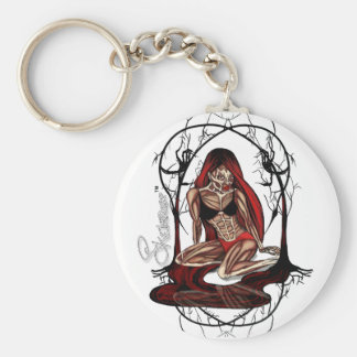 Skelepose Acessories Basic Round Button Key Ring