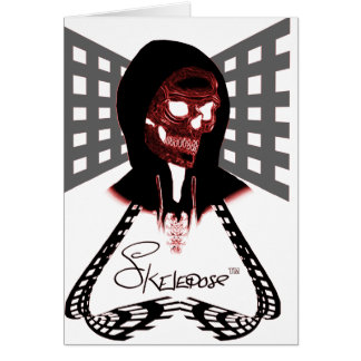 Skelepose Acessories Greeting Card