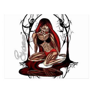 Skelepose Acessories Postcard