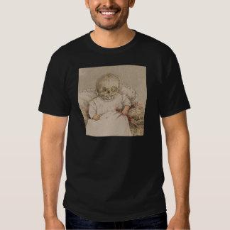 Skeletal Baby Shirts