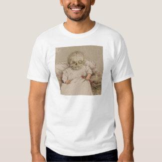 Skeletal Baby Tee Shirts