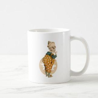 Skeletal Clown Coffee Mug