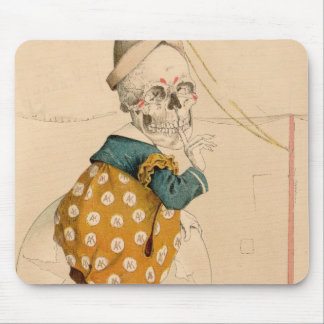 Skeletal Clown Mouse Pad