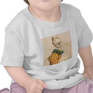 Skeletal Clown Tee Shirts