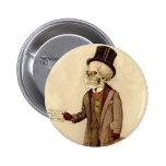 Skeletal Doctor 6 Cm Round Badge