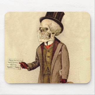 Skeletal Doctor Mouse Pad
