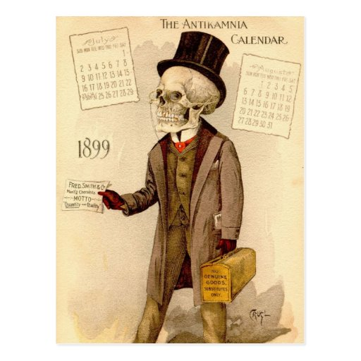 Skeletal Doctor Postcards