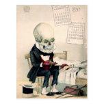 Skeletal Last Rites Postcards