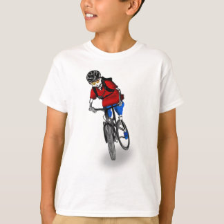 Skeletal Mountain Biker T-Shirt