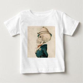Skeletal Officer Baby T-Shirt