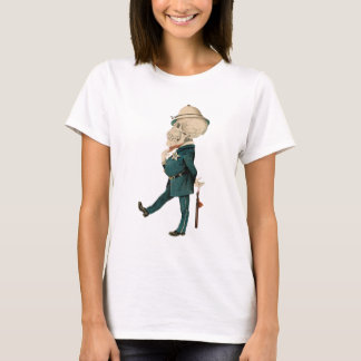 Skeletal Officer T-Shirt