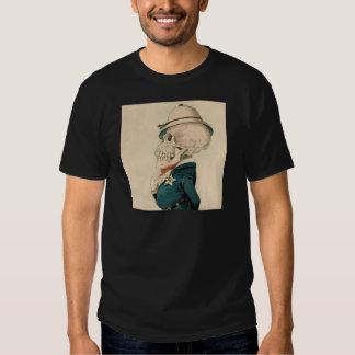 Skeletal Officer Tee Shirts