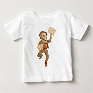 Skeletal Paperboy Baby T-Shirt