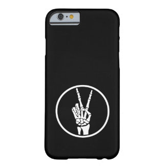 Skeletal Peace Sign Barely There iPhone 6 Case