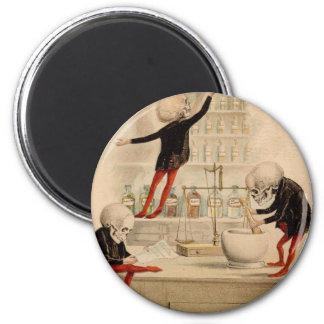 Skeletal Pharmacy Magnet