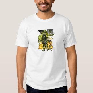 Skeletal Soldier Shirts