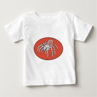 Skeletal Tarantula baby Shirt
