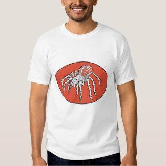 Skeletal Tarantula Tshirts