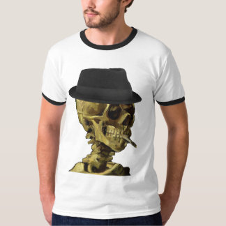 Skeletal trilby t shirts