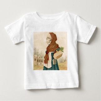 Skeletal Vegetable Lady Shirt