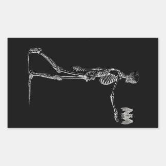 Skeleton and Bat Sticker