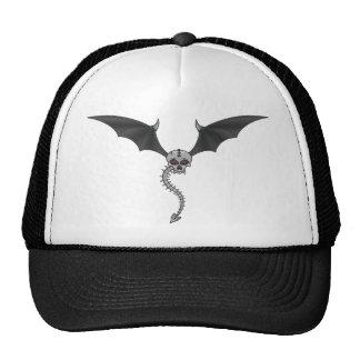 skeleton bat cap