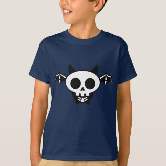 Skeleton Bat Kids Tee