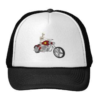 Skeleton Biker / Bike Rider: 3D Model: Cap