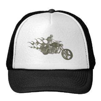 Skeleton Biker / Bike Rider: Cap