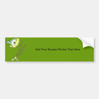 Skeleton Bone Fish Bumper Sticker