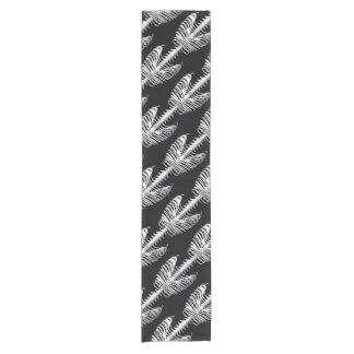 Skeleton Bones Ribcage Tile Halloween Table Runner