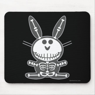 Skeleton Bunny Mouse Mat