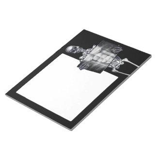 Skeleton Chest Xray Large Notepad