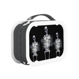 Skeleton Chest Xray Lunchbox