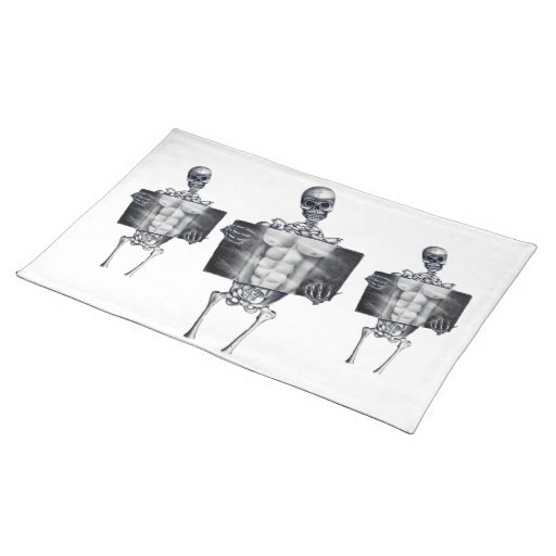 Skeleton Chest Xray Placemats